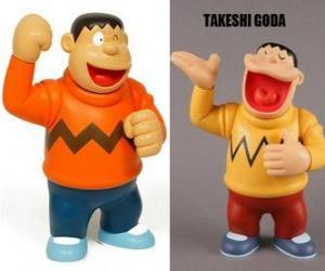 Puzzle de Takeshi Goda conocido por sus compañeros como Gigante porque es un chico grande y fuerte