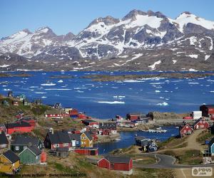 Puzzle de Tasiilaq, Groenlandia