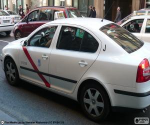 Puzzle de Taxi de Madrid