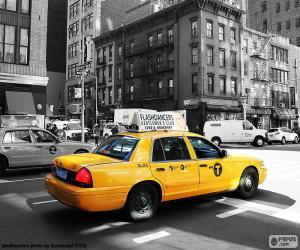 Puzzle de Taxi de Nueva York