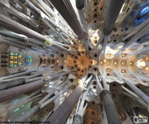 Puzzle de Techo, Sagrada Familia, BCN