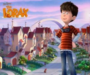 Puzzle de Ted Wiggins, un chico idealista de 12 años, el protagonista principal de la película Lorax