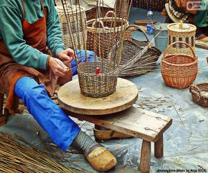 Puzzle de Tejedor de cestas