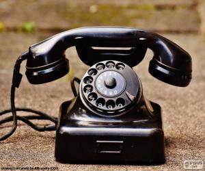 Puzzle de Teléfono antiguo