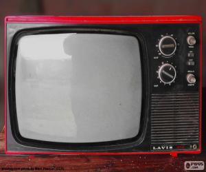 Puzzle de Televisor antiguo Lavis