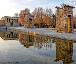 Puzzle de Templo de Debod, Madrid