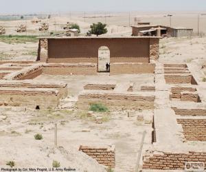 Puzzle de Templo de Nabu, Irak
