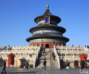 Puzzle de Templo del Cielo, Pekín, China