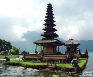Puzzle de Templo Ulun Danu Batur, Bali