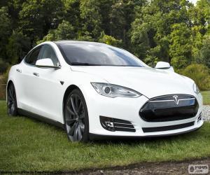 Puzzle de Tesla Model S