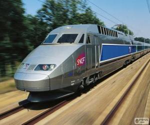 Puzzle de TGV, Francia