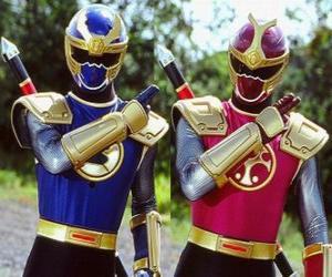 Puzzle de Thunder Ranger es un duo Crimson i Navy