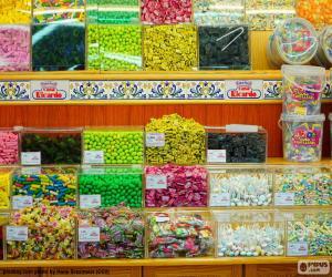 Puzzle de Tienda de golosinas