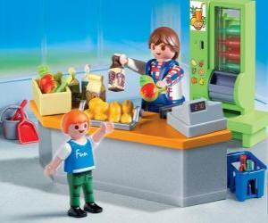 Puzzle de Tienda de Playmobil