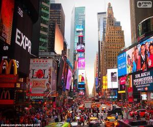 Puzzle de Times Square, Nueva York