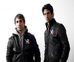 Puzzle de Timo Glock y Lucas di Grassi, pilotos de la escuderia Virgin Racing