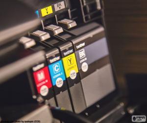 Puzzle de Tintas para la impresora