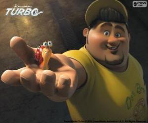 Puzzle de Tito, el amigo de Turbo