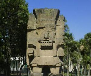 Puzzle de Tlátoc, el dios de la lluvia y la fertilidad, tiene su origen en la cultura de Teootihuacan