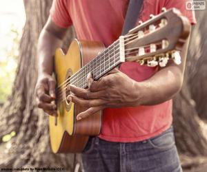 Puzzle de Tocando la guitarra