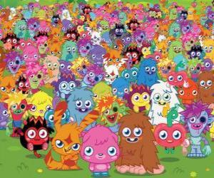 Puzzle de Todos los monstruos de Moshi Monsters
