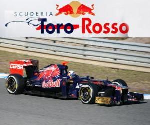 Puzzle de Toro Rosso STR7 - 2012 -