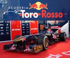 Puzzle de Toro Rosso STR8 - 2013 -
