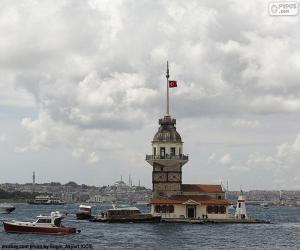 Puzzle de Torre de la Doncella, Turquía