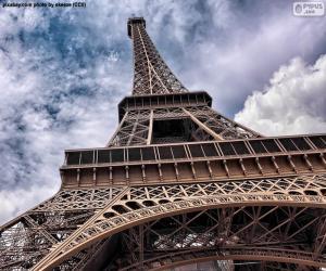 Puzzle de Torre Eiffel de día