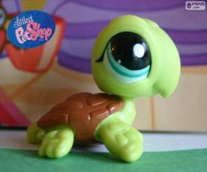 Puzzle de Tortuga de Littlest PetShop