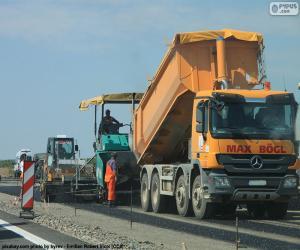 Puzzle de Trabajos de asfaltado