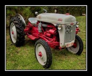 Puzzle de Tractor antiguo