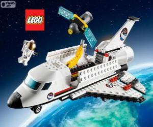Puzzle de Transbordador espacial de Lego City