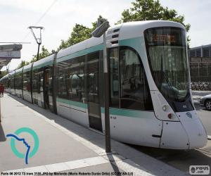 Puzzle de Tranvía de París