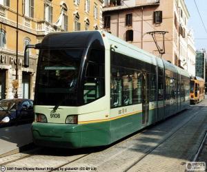 Puzzle de Tranvía de Roma