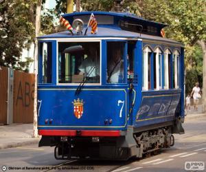 Puzzle de Tranvía Azul, Barcelona