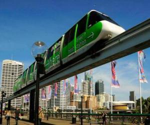 Puzzle de Tren monorail