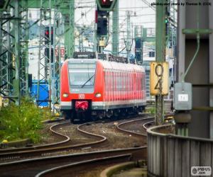 Puzzle de Tren regional