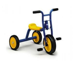 Puzzle de Triciclo infantil