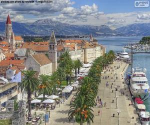 Puzzle de Trogir, Croacia