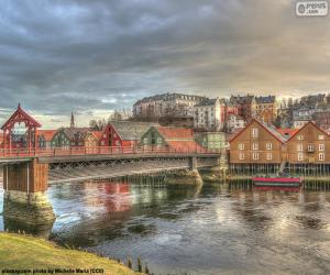 Puzzle de Trondheim, Noruega