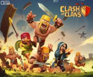 Puzzle de Tropas, Clash of Clans