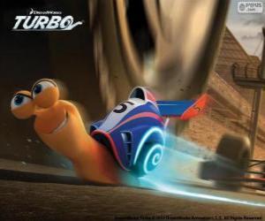 Puzzle de Turbo, el caracol más rápido del mundo
