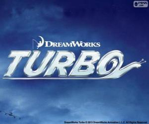 Puzzle de Turbo, el logo de la película