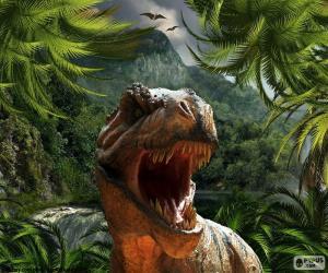 Puzzle de Tyrannosaurus Rex