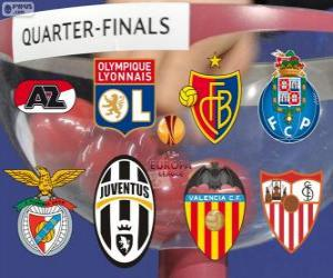 Puzzle de UEFA Europa League, Cuartos de final 2013-14