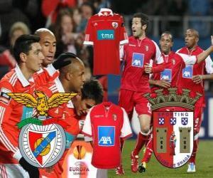Puzzle de UEFA Europa League, semifinal 2010-11, Benfica - Braga
