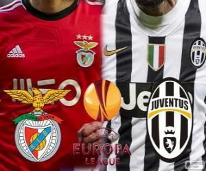 Puzzle de UEFA Europa League, semifinal 2013-14, Benfica - Joventus