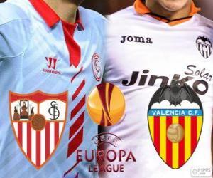 Puzzle de UEFA Europa League, semifinal 2013-14, Sevilla - Valencia
