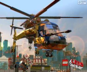Puzzle de Un helicóptero de la película Lego
